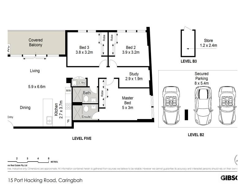 506/315 Taren Point Road, Caringbah NSW 2229 Floorplan