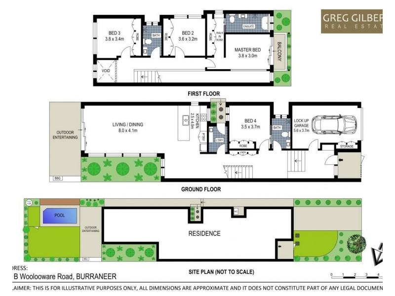 112B Woolooware Road, Burraneer NSW 2230 Floorplan