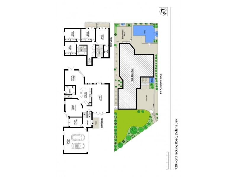720  Port Hacking Road, Dolans Bay NSW 2229 Floorplan