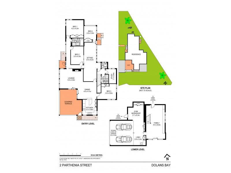 2 Parthenia Street, Dolans Bay NSW 2229 Floorplan