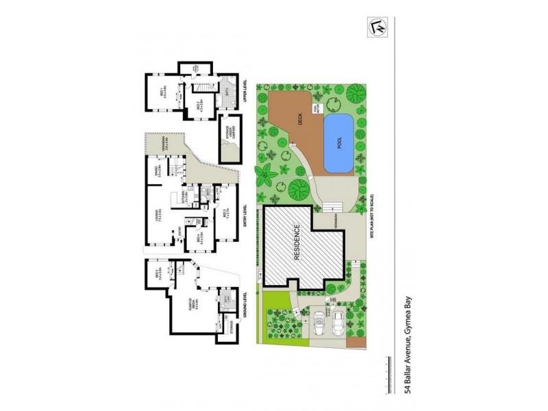 54 Ballar Avenue, Gymea Bay NSW 2227 Floorplan
