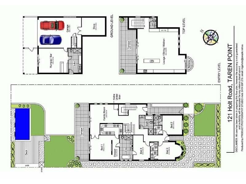 121 Holt Road, Taren Point NSW 2229 Floorplan