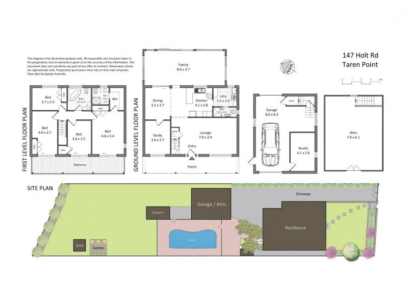 147 Holt Road, Taren Point NSW 2229 Floorplan