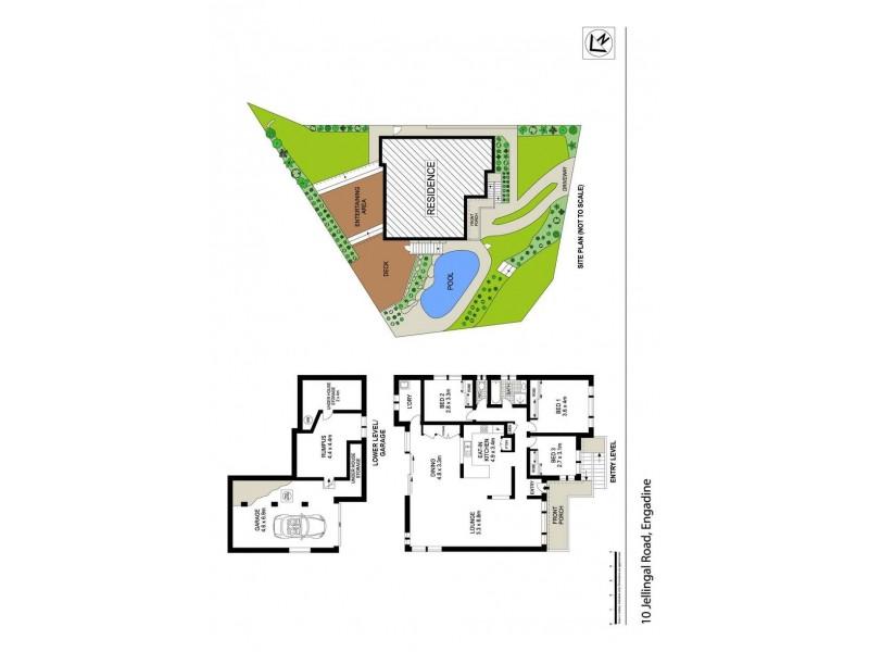 10 Jellingal Road, Engadine NSW 2233 Floorplan