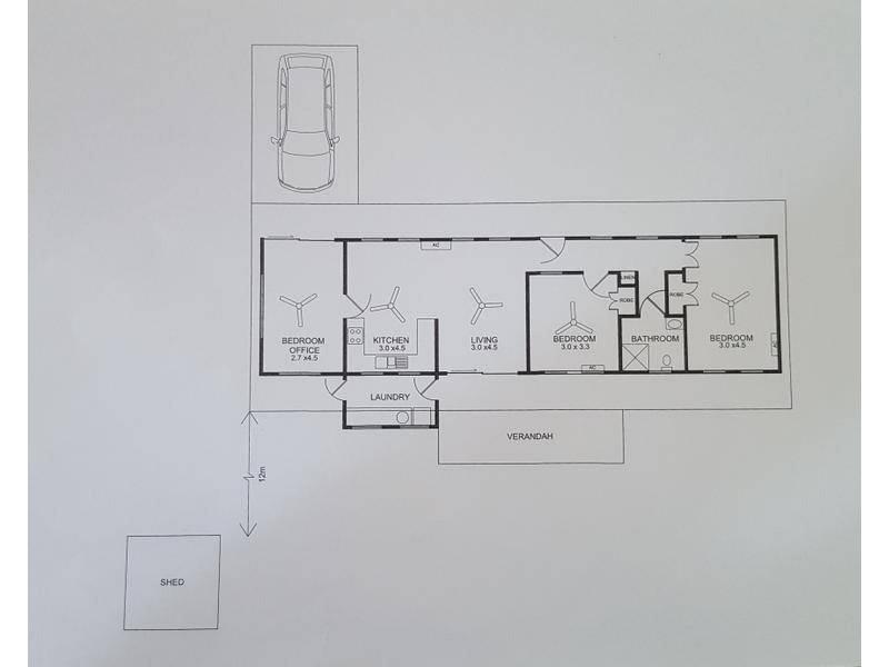 8 Turana Street, Batchelor NT 0845 Floorplan