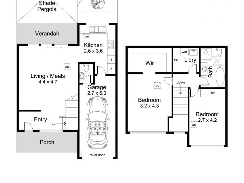3/2-4 Sandford Street, Kensington Gardens SA 5068 Floorplan