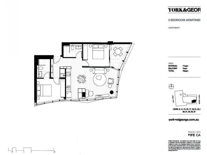 38 York Street, Sydney NSW 2000 Floorplan