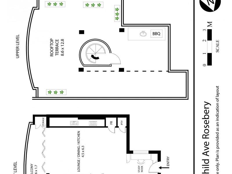 4 Rothschild Avenue, Rosebery NSW 2018 Floorplan
