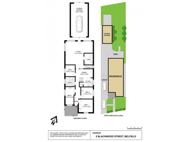 5 Blackwood Street, Belfield NSW 2191 Floorplan
