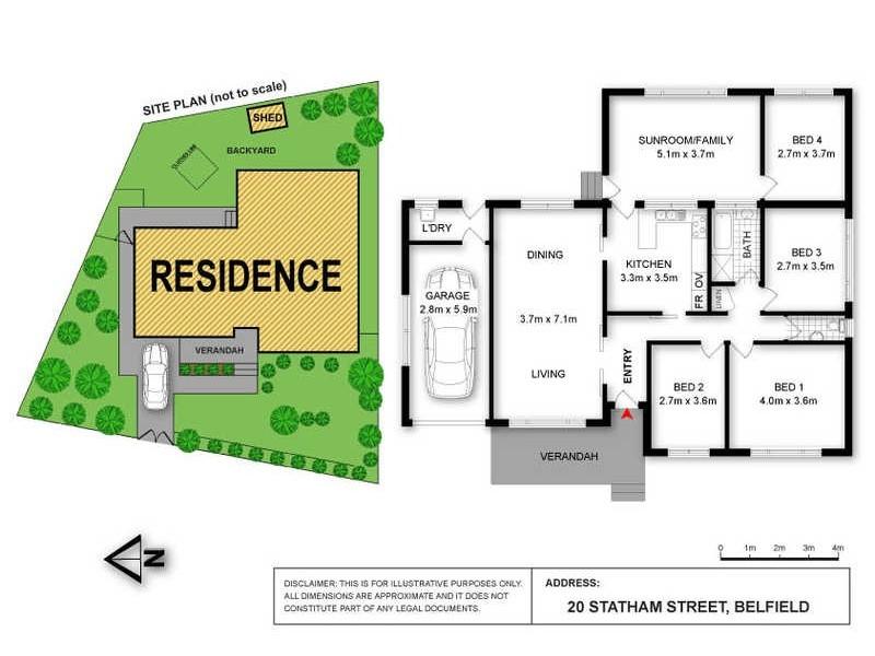 20 Statham Street, Belfield NSW 2191 Floorplan