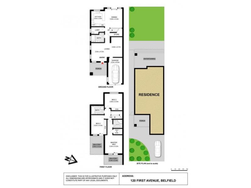 120 First Avenue, Belfield NSW 2191 Floorplan