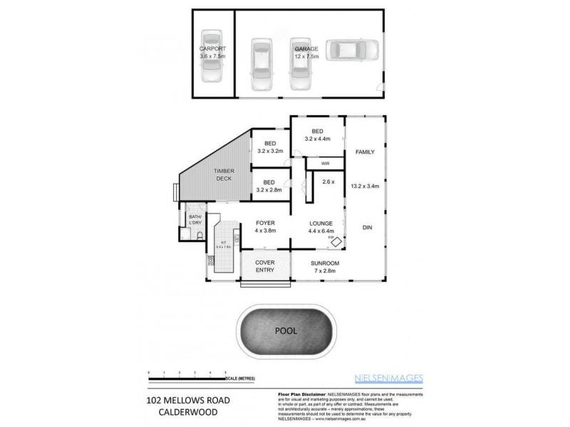 102 Mellows Road, Calderwood NSW 2527 Floorplan