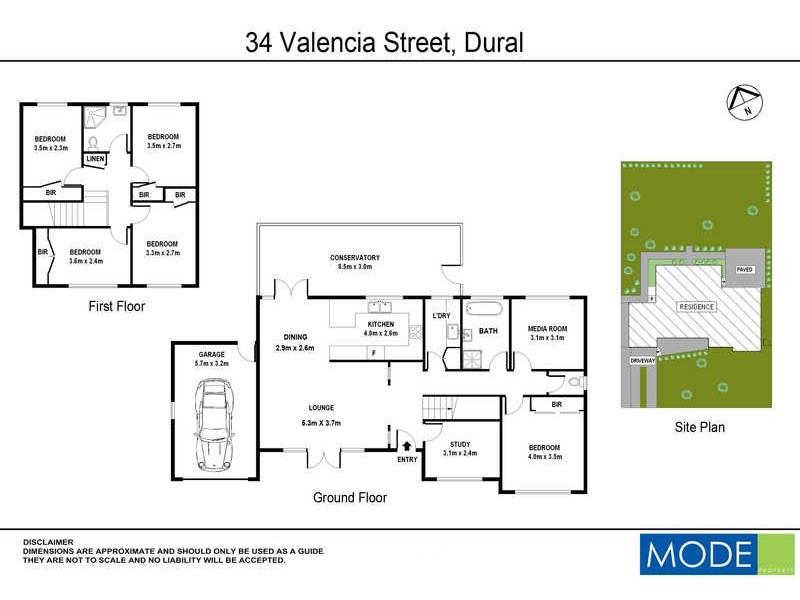 34 Valencia Street, Dural NSW 2158 Floorplan