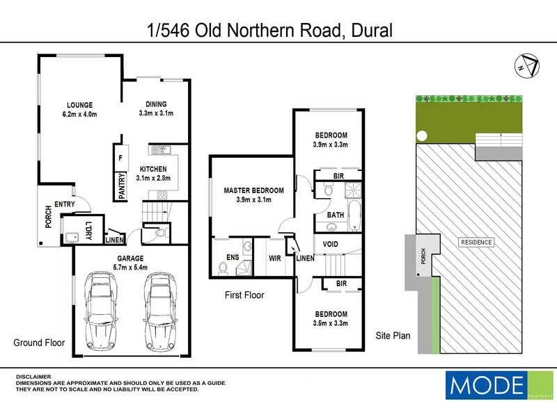 1/546 Old Northern Road, Dural NSW 2158 Floorplan