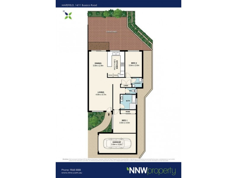 14/11 Busaco Road, Marsfield NSW 2122 Floorplan