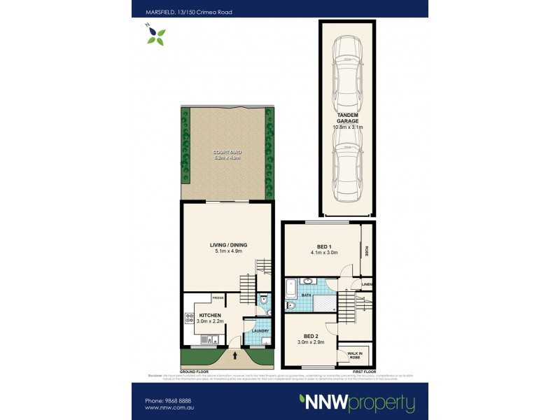 13/150 Crimea Road, Marsfield NSW 2122 Floorplan