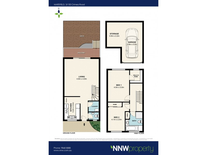 3/150 Crimea Road, Marsfield NSW 2122 Floorplan