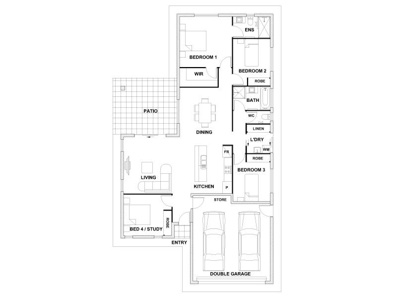 Lot 113 Ainscow Drive, Bentley Park QLD 4869 Floorplan