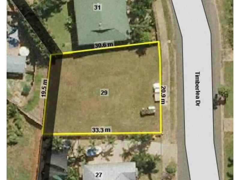 29 Timberlea Drive, Bentley Park QLD 4869 Floorplan