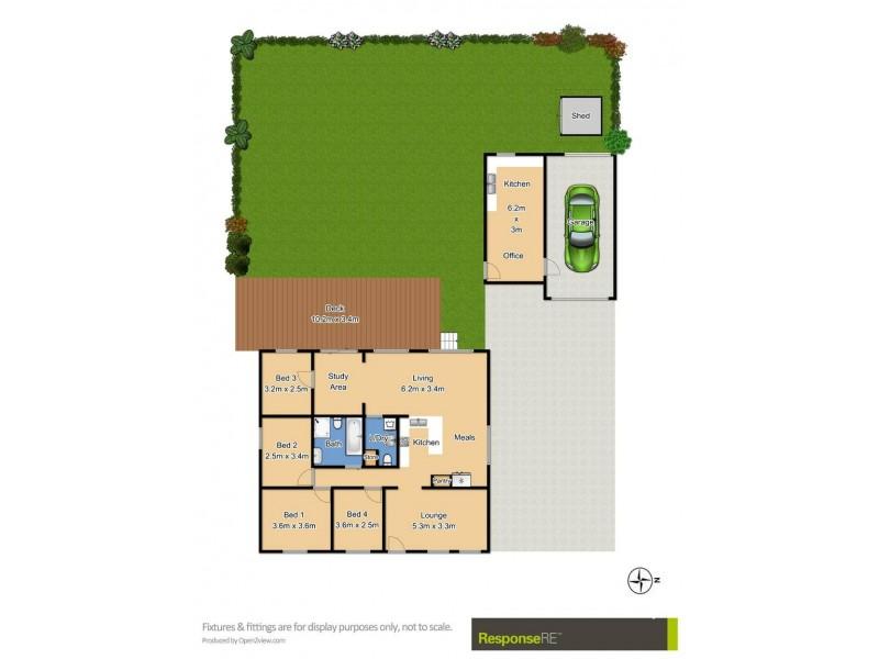 4 Kentwell Street, Baulkham Hills NSW 2153 Floorplan