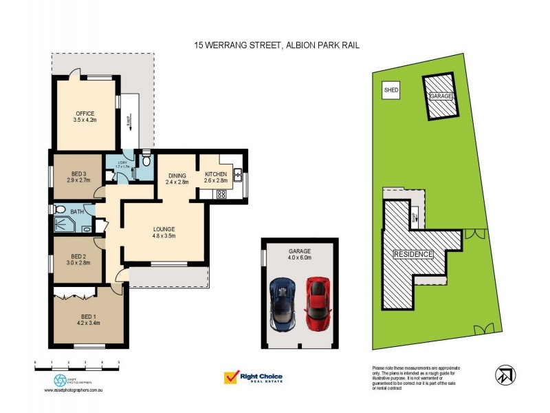 15 Werrang Street, Albion Park Rail NSW 2527 Floorplan