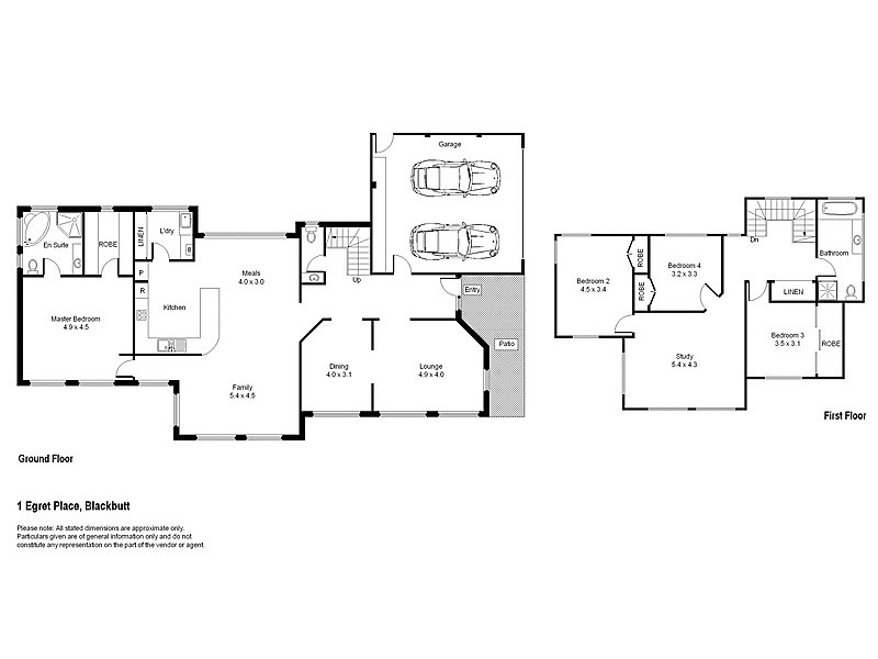 Blackbutt NSW 2529 Floorplan