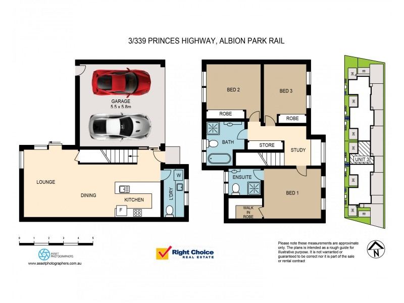 3/339 Princes Highway, Albion Park Rail NSW 2527 Floorplan