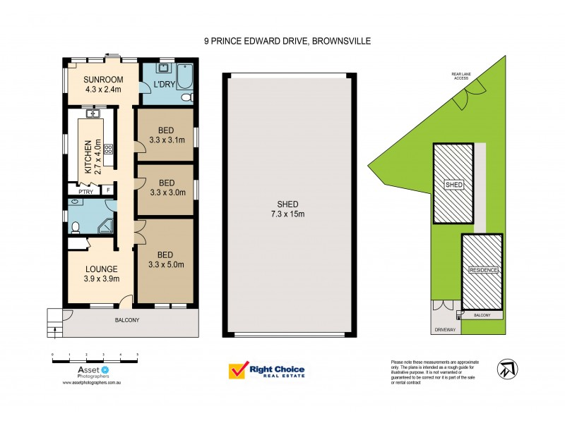 Brownsville NSW 2530 Floorplan