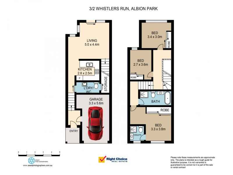 3/2 Whistlers Run, Albion Park NSW 2527 Floorplan