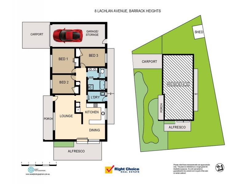 8 Lachlan Avenue, Barrack Heights NSW 2528 Floorplan