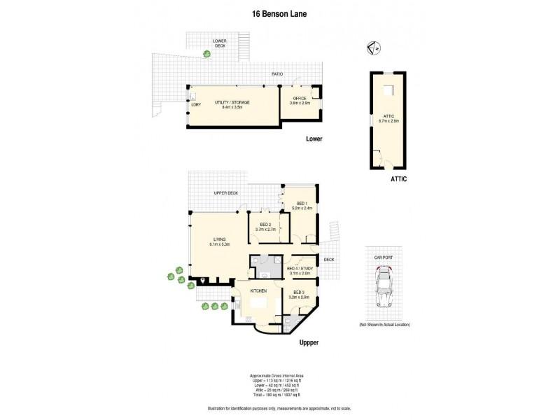 16 Benson Lane, Mount Nebo QLD 4520 Floorplan
