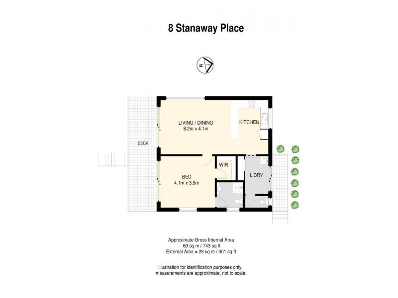 8 Stanaway Place, Bellbowrie QLD 4070 Floorplan