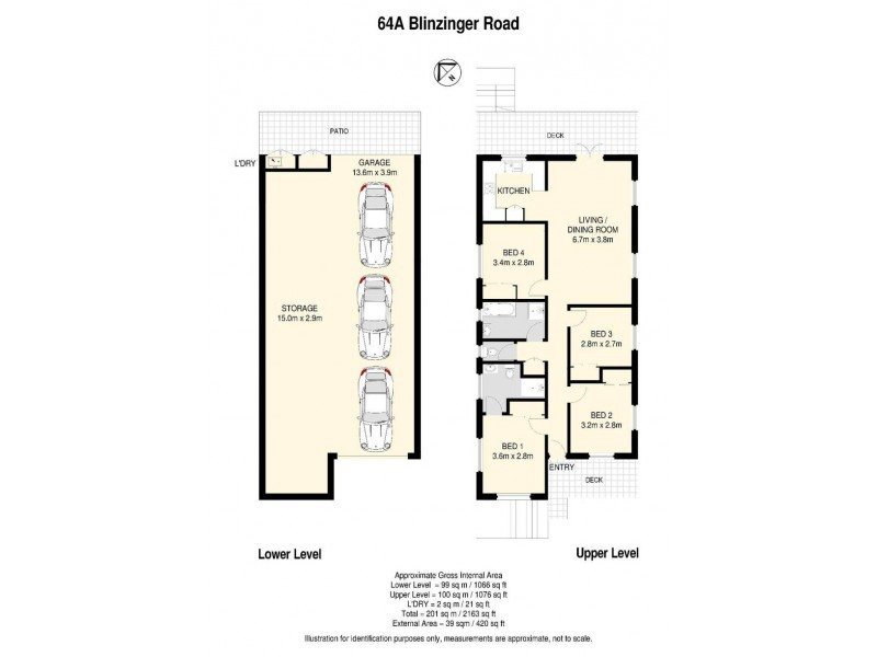 64A Blinzinger Road, Banyo QLD 4014 Floorplan