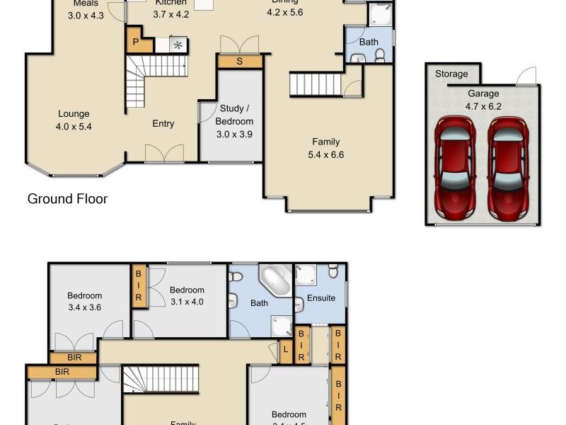 3 Crestview Drive, Glenwood NSW 2768 Floorplan