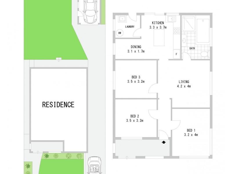 40 Byer Street, Enfield NSW 2136 Floorplan