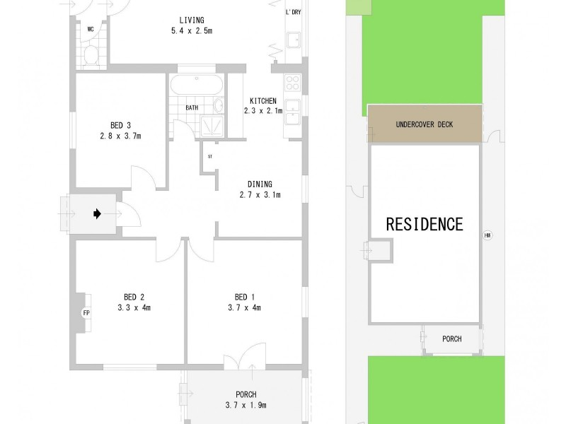 88 Seventh Avenue, Campsie NSW 2194 Floorplan