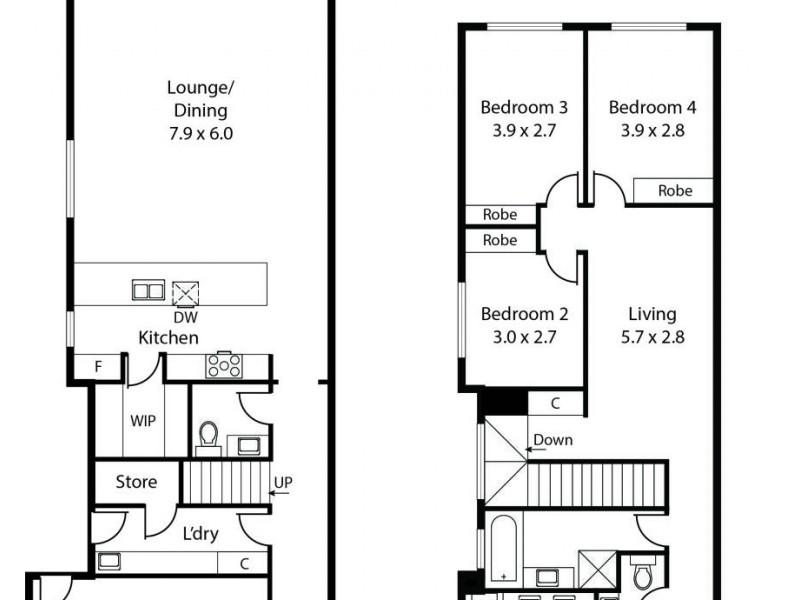 36 Wembley Avenue, Hectorville SA 5073 Floorplan