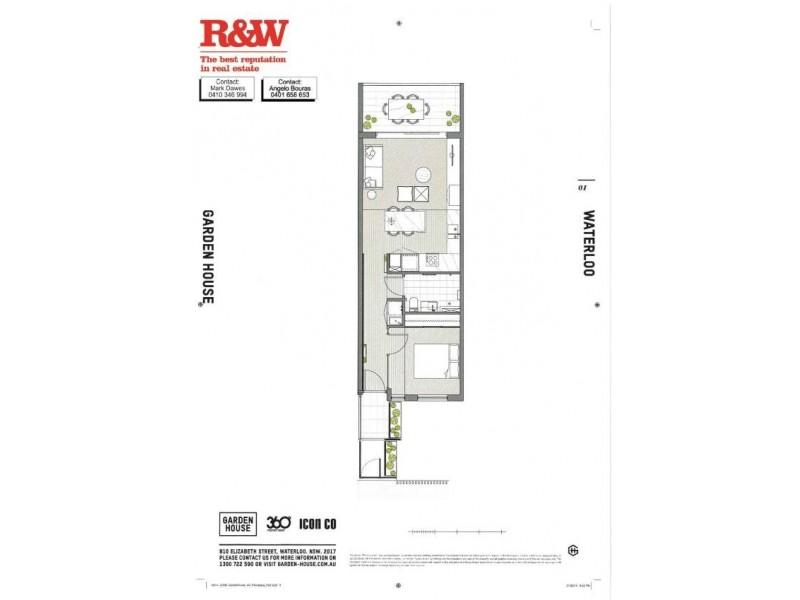 C322 810 822 elizabeth street waterloo nsw 2017 for 111 elizabeth street floor plan