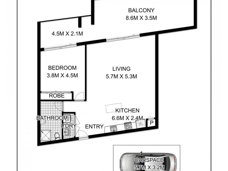 11/52-54 McEvoy Street, Waterloo NSW 2017 Floorplan