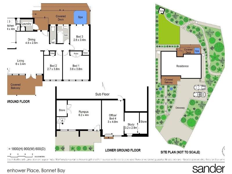 27 Eisenhower Place, Bonnet Bay NSW 2226 Floorplan