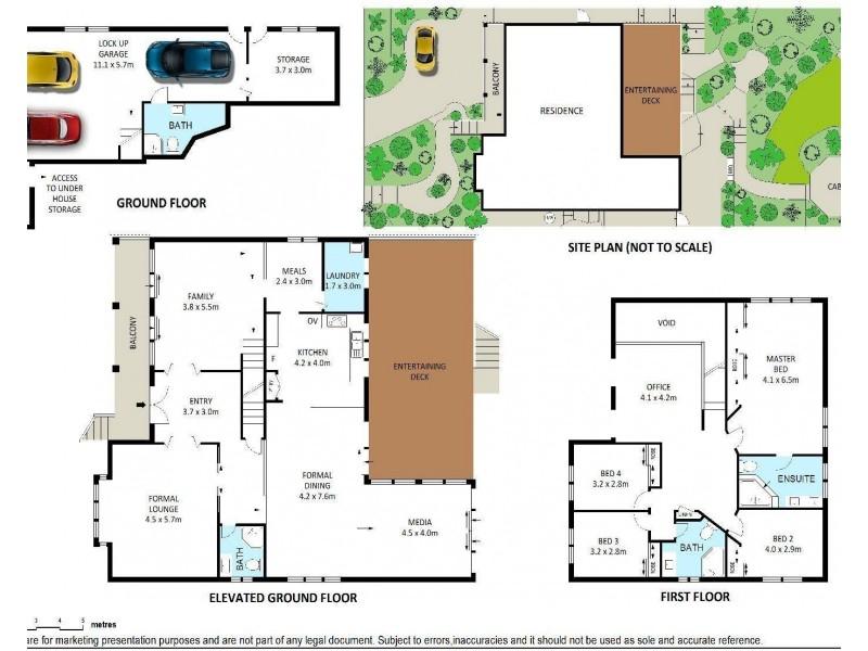 6 Wylah Place, Woronora Heights NSW 2233 Floorplan
