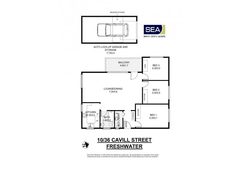 10/36 Cavill Street, Freshwater NSW 2096 Floorplan