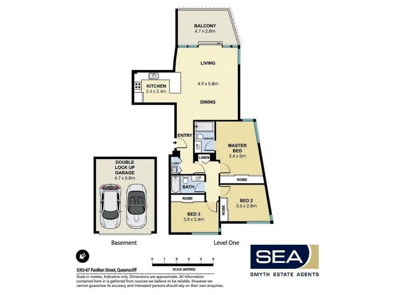 5/63-67 Pavilion Street, Queenscliff NSW 2096 Floorplan