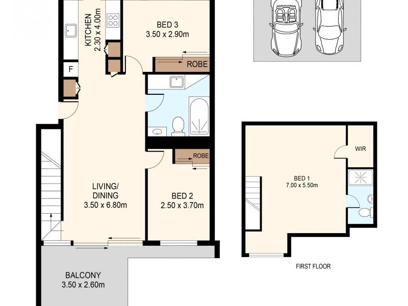 90/57-63 Fairlight Street, Five Dock NSW 2046 Floorplan