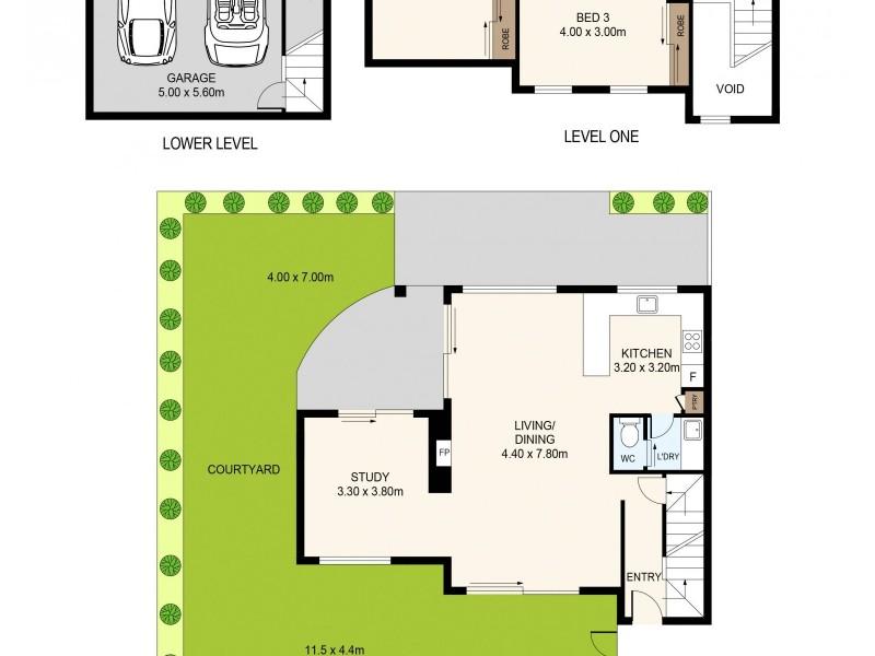 5/17A Walton Crescent, Abbotsford NSW 2046 Floorplan