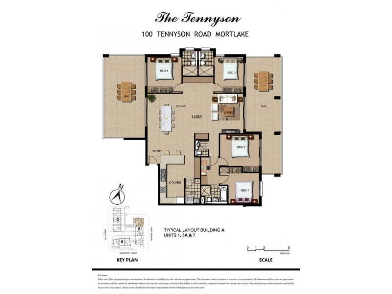 100 Tennyson Road, Mortlake NSW 2137 Floorplan
