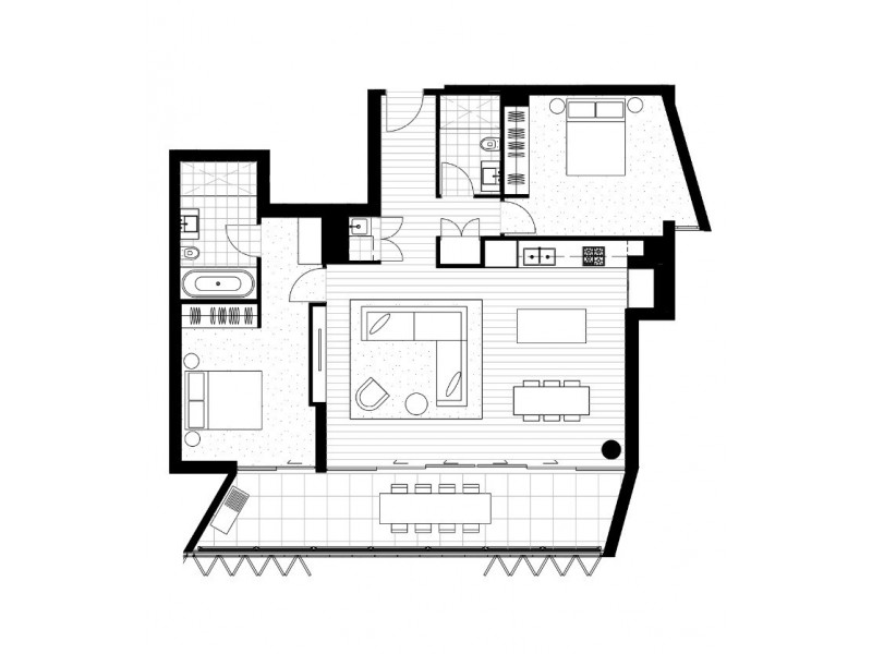 21 Barangaroo Avenue, Sydney NSW 2000 Floorplan