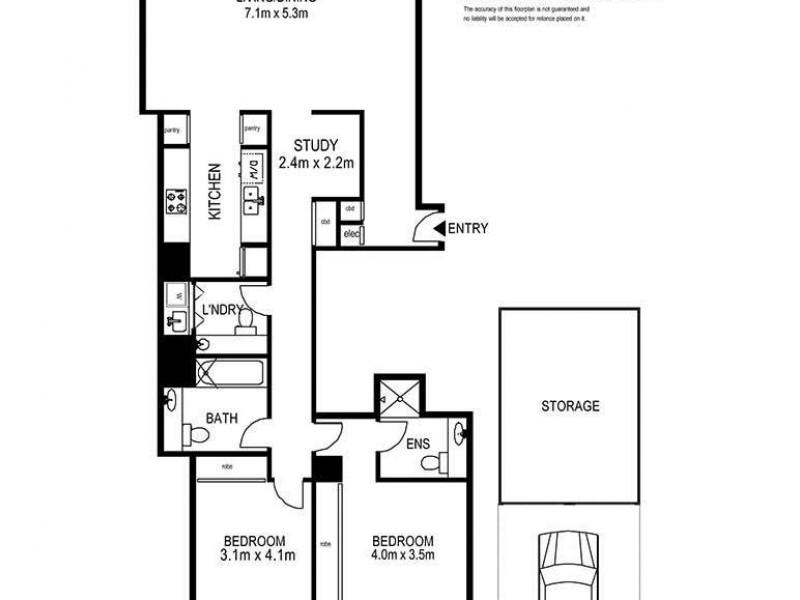 15A/161 Kent Street, Sydney NSW 2000 Floorplan