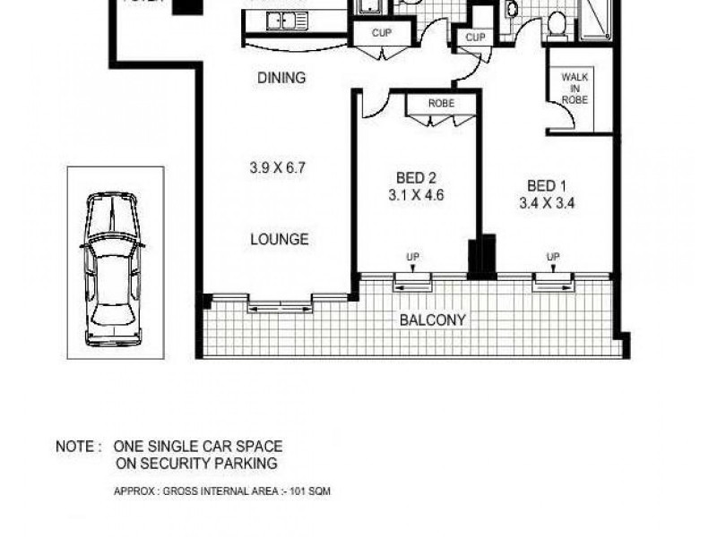 183 Kent Street, Sydney NSW 2000 Floorplan