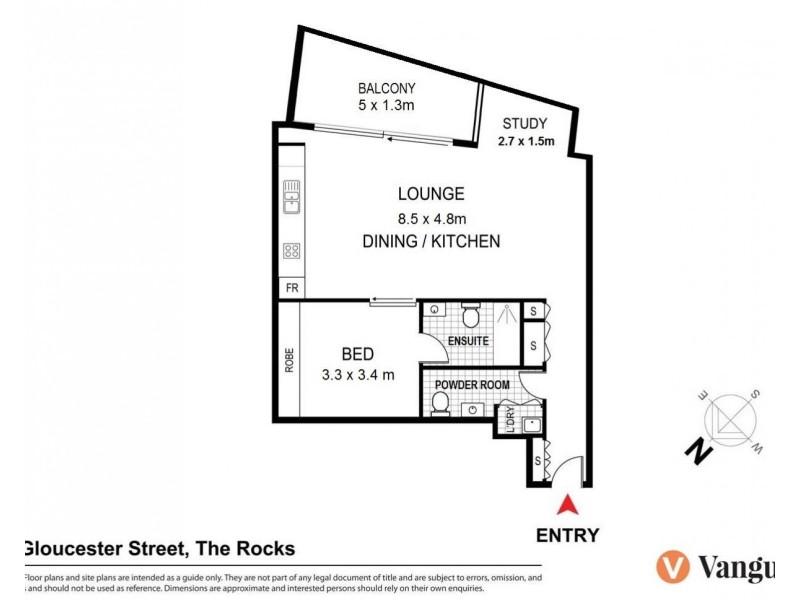 171 Gloucester Street, Sydney NSW 2000 Floorplan